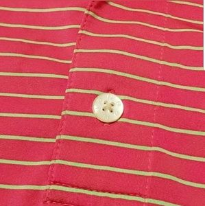 FootJoy Shirts - FJ FootJoy Mens Shirt Size XXL Golf Polo Striped